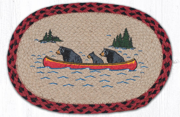 MSP-396 Bears in Canoe Swatch