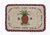 WW-375 Pineapple Wicker Weave Table Accent