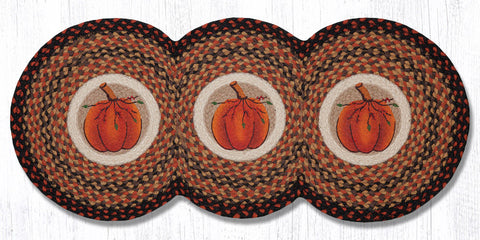 TCP-222 Harvest Pumpkin Tri Circle Runner