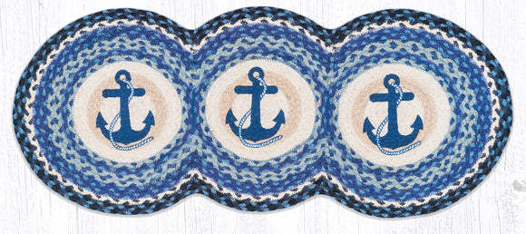 TCP-443 Navy Anchor Tri Circle