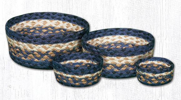 CB-079 Light & Dark Blue/Mustard