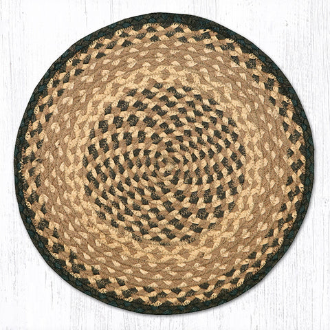 CH-017 Chocolate/Natural Chair Pad