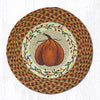 CH-222 Harvest Pumpkin Printed Chair Pad