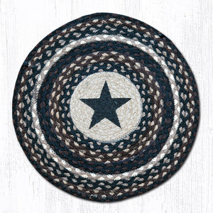 CH-313 Black Star Chair Pad