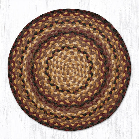 CH-371 Black Cherry/Chocolate/Cream Chair Pad