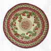 CH-390 Cranberries Printed Chair Pad
