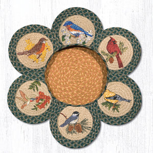 TNB-365 Song Birds Trivet/Basket