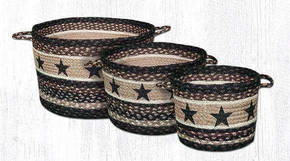 UBP-313 Black Stars Utility Baskets