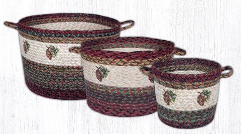 UBP 9-081 Pinecone Craft-Spun Utility Baskets