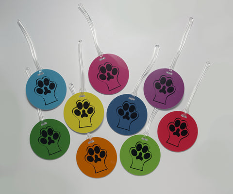 Paw Crate & Luggage Tags