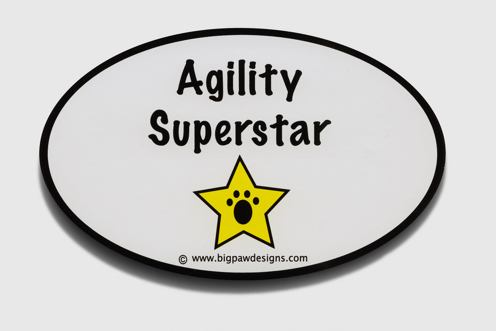 Stickers:  Dog Sports (Flyball & Agility)