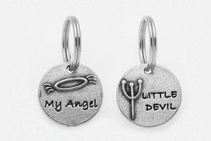 Pewter Collar Charms - Round Charms