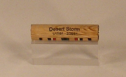 Desert Storm campaign ribbon blank - Fine Wood Pens