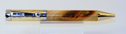 Elegant ballpoint pen in Madrone - Fine Wood Pens