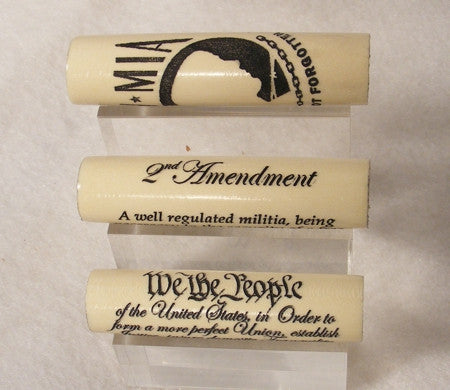 POW / MIA, 2nd Amendment and Preamble blanks - Fine Wood Pens