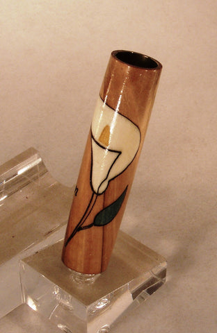"Holy Land Olive Wood ""He is Risen"" inlay blank - Fine Wood Pens"