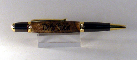 Maple twist pen with Preamble - Fine Wood Pens