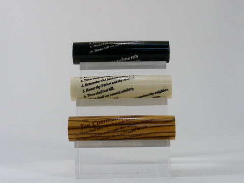 Ten Commandments blank - Fine Wood Pens