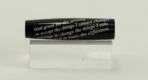 Serenity Prayer engraved blank - Fine Wood Pens