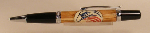 Veteran's Oath twist pen - Fine Wood Pens