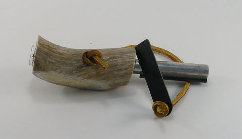 Fire Starter and Compass in Antler - Fine Wood Pens