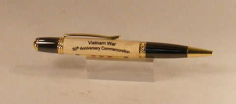 Vietnam War 50th Anniversary Commemorative Pen - Fine Wood Pens