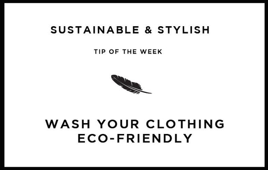 Wash your clothing eco-friendly