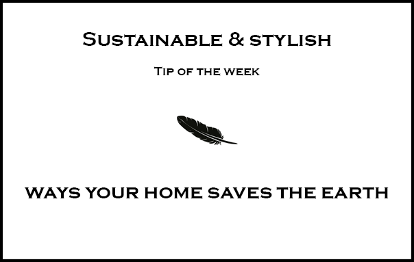 Ways your home saves the earth AND your money I Part 2