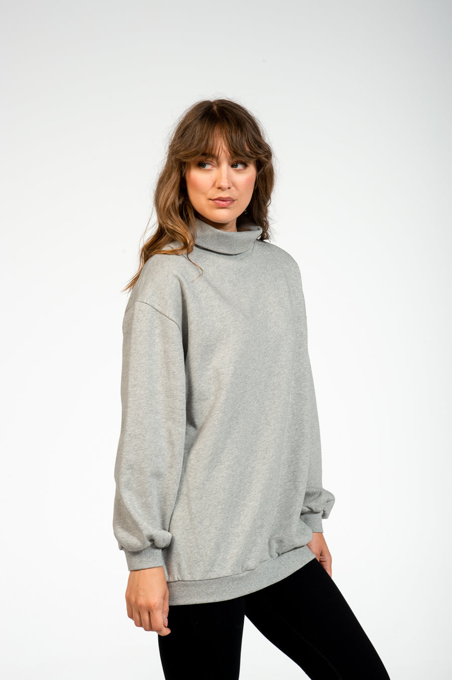 Sweater Cocoon Heather Grey