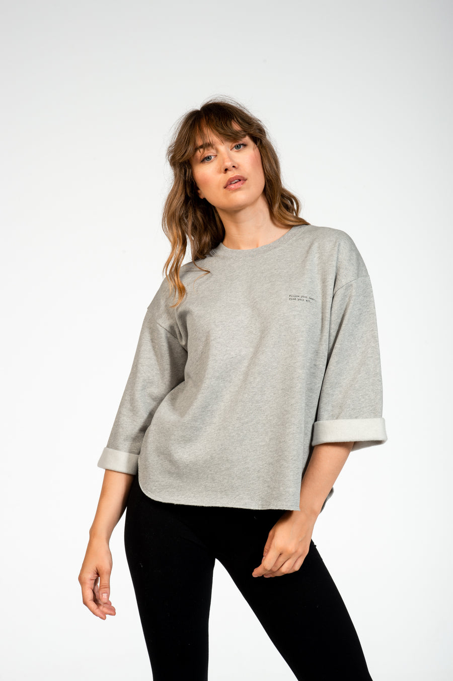 Sweater Sfinx Heather Grey