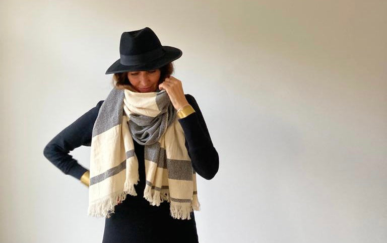 Sold out in 1 day!!!! Thank you !!! Mister Sunshine: Traditional handwoven Moroccan scarf