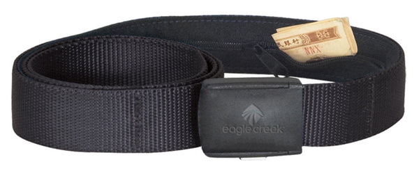 Travel security belt to carry money securely