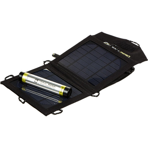 Solar panel and rechargeable power pack
