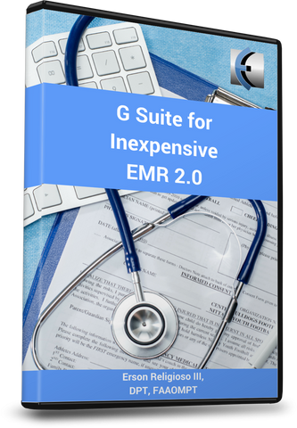 Google Workspace for Inexpensive EMR 2.0 - EDGE Mobility System