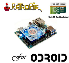 128GB SD Card for ODROID XU4 - Sega Saturn, Naomi, Atomiswave, Dreamcast