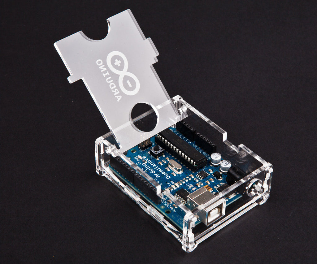 Clear Transparent Arduino Uno Enclosure
