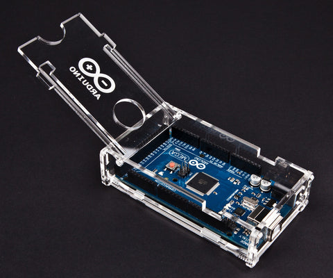 Clear Transparent Arduino Mega Enclosure
