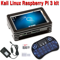 Kali Linux 2 32GB Raspberry Pi 3 Model B+ kit Assembled with 3.5