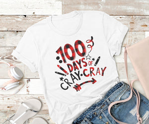 100 Days of Cray Cray,Ink That Apparel