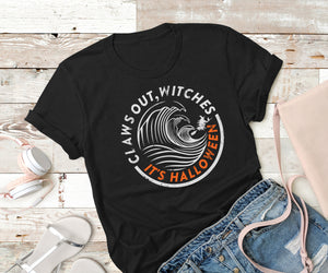 Claws out witches Halloween T-shirt,Ink That Apparel