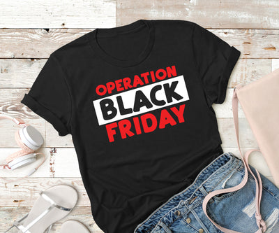 Operation Black Friday,Ink That Apparel