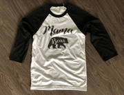 Mama Bear Raglan tee,Ink That Apparel