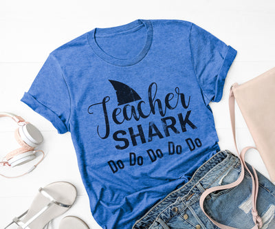 Teacher Shark do do do do,Ink That Apparel