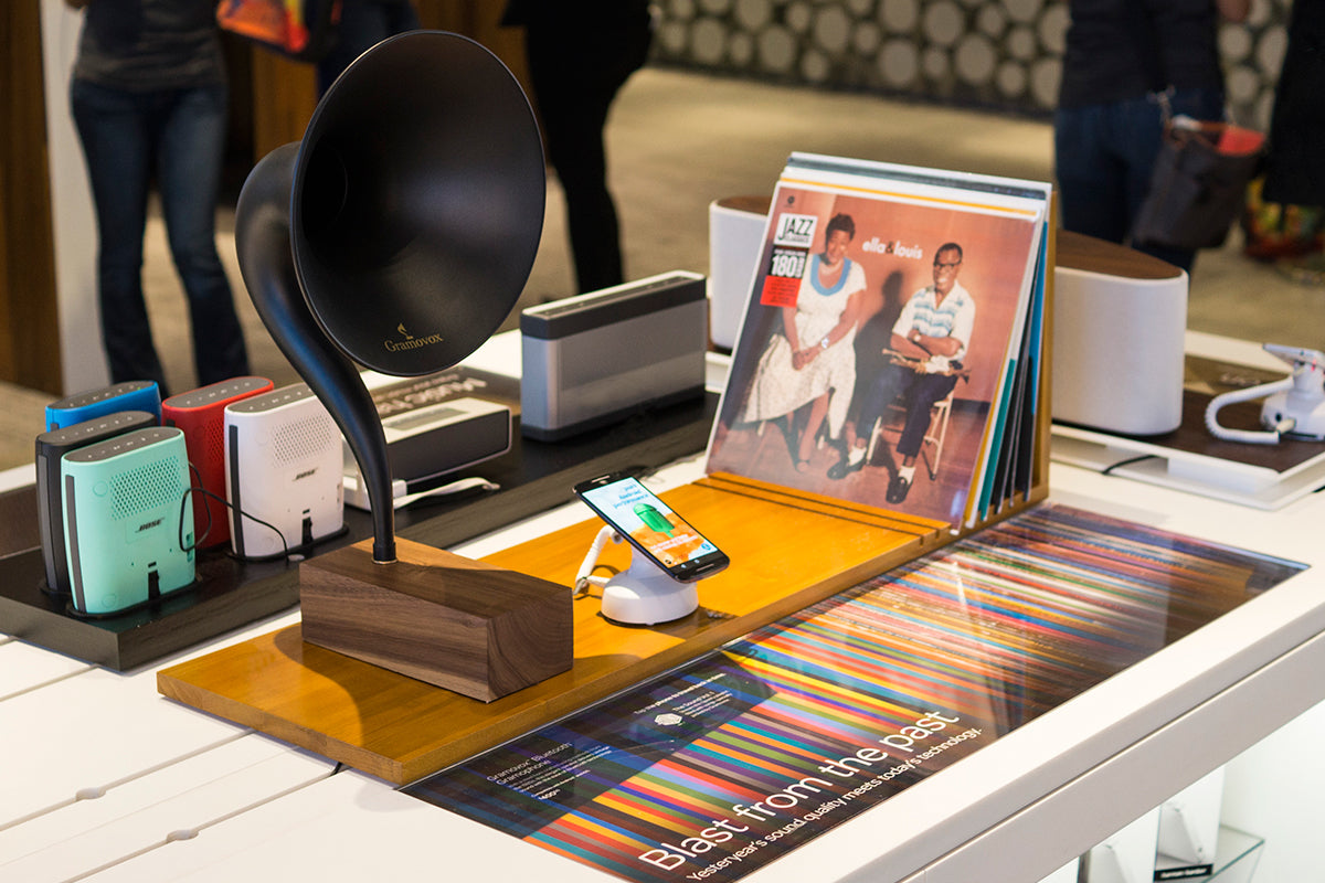 Gramovox Now In The AT&T Flagship Store