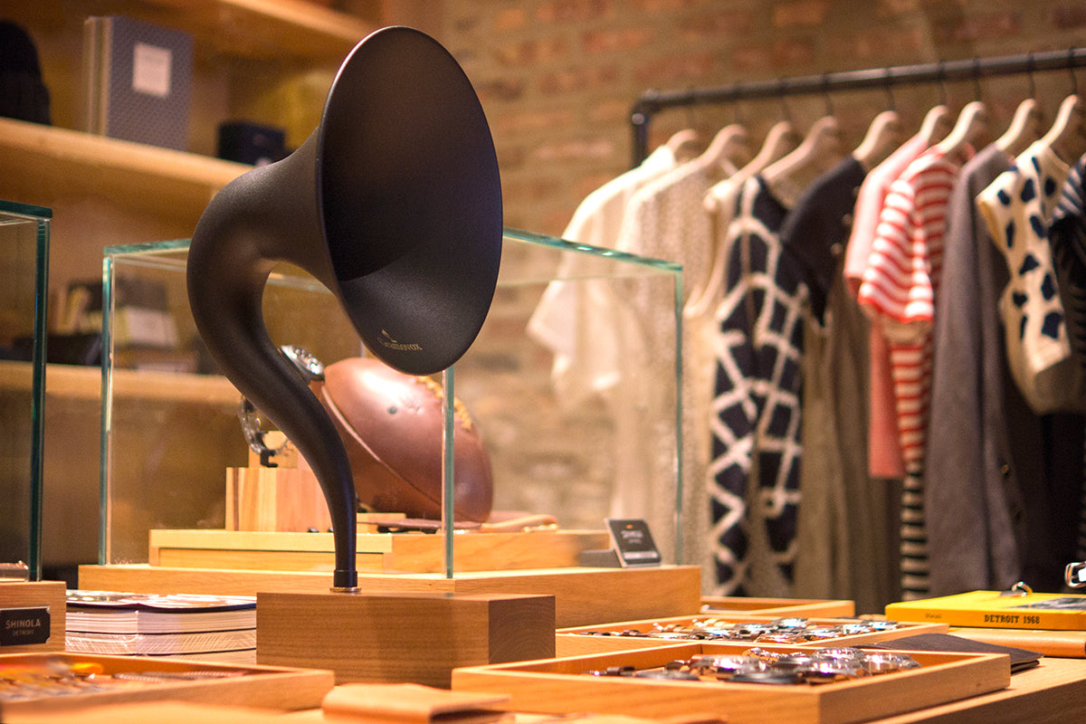Gramovox Now Featured In Shinola Stores