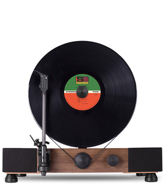 Floating Record Walnut