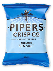 Pipers Anglesey Sea Salt 24x40g