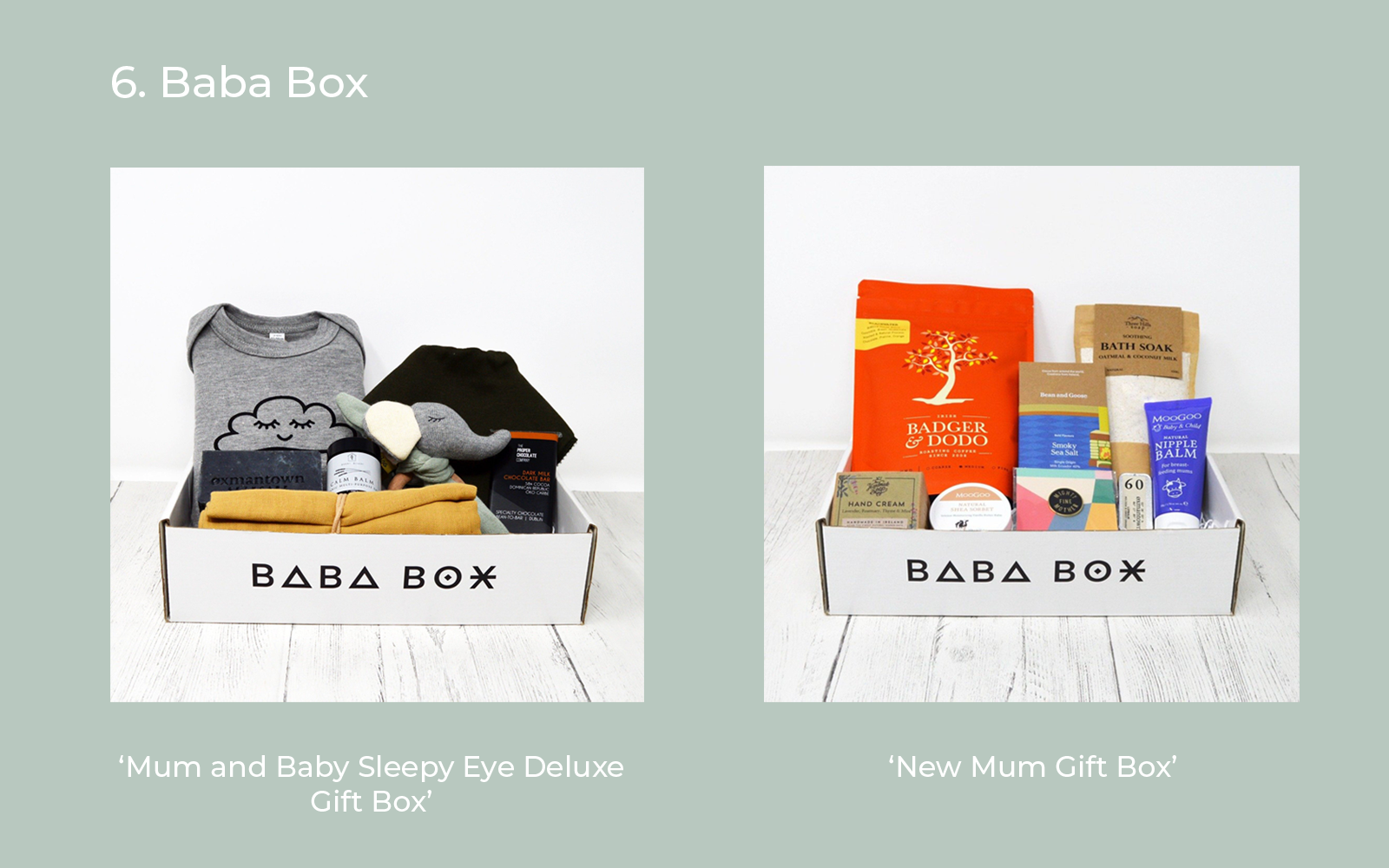 Baba Box Gifts for New Mums Lulu and belle