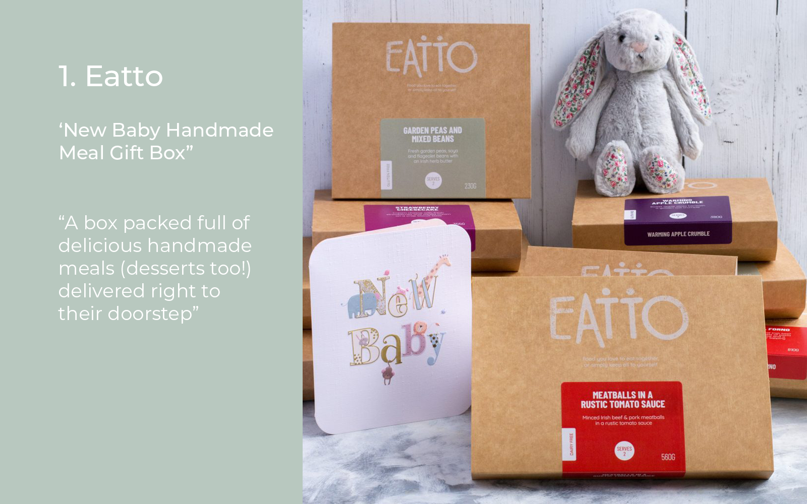 Eatto Gifts for New Mums Lulu and belle