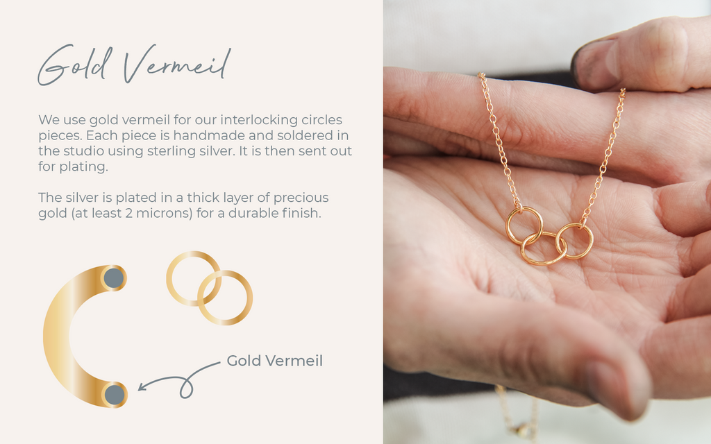 Gold Vermeil what is it lulu and belle jewellery